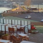 shot of outdoor seating area